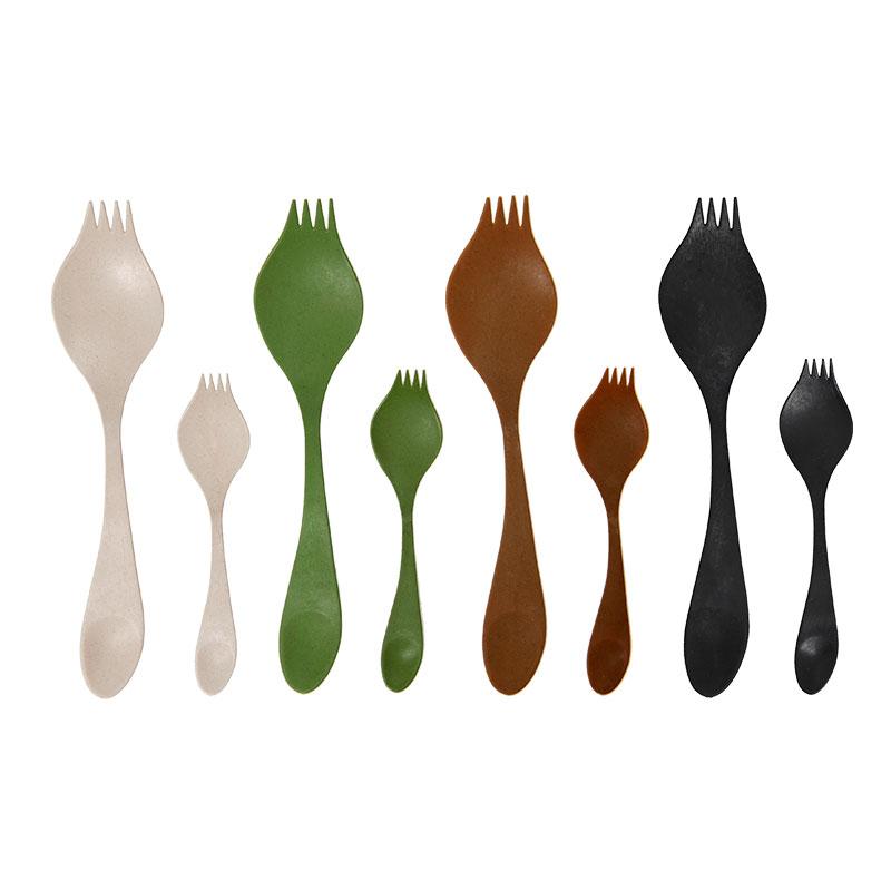 Les trois couleurs de la GEORGETTE Biodegradable, blanc, marron et vert