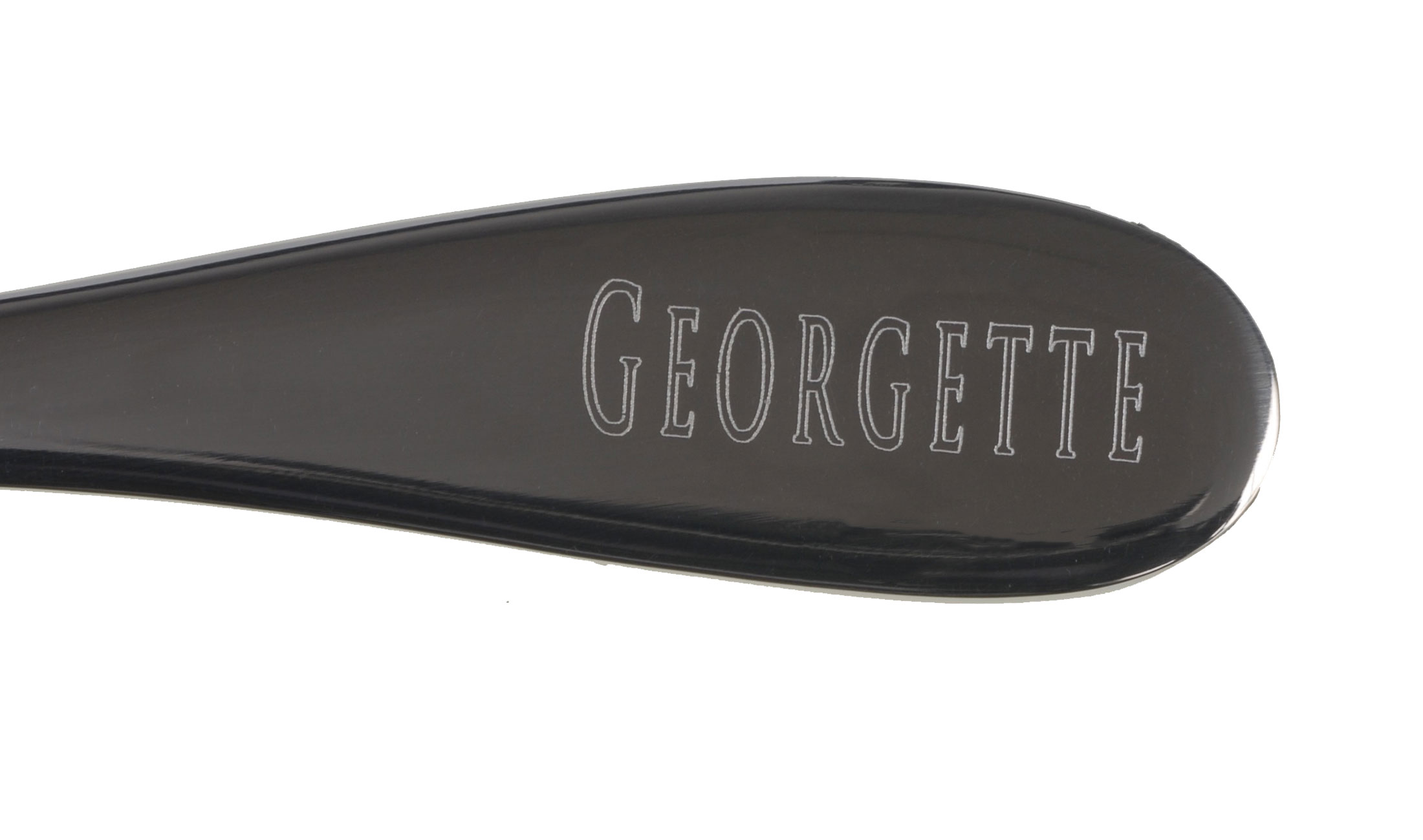 Gravure GEORGETTE choix de police n°1